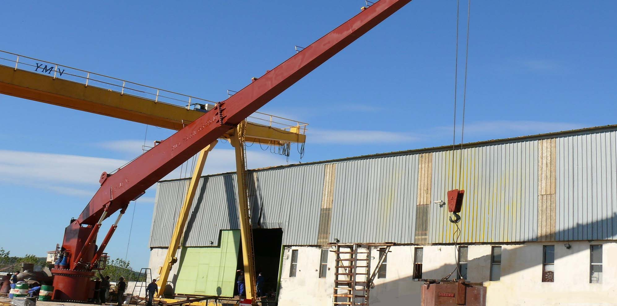 Active Heave Compensation Crane